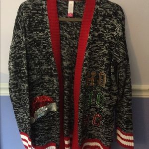 Ugly Christmas cardigan!